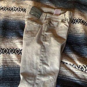 Levi's 511 gray jeans